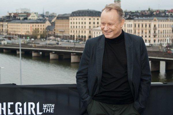 Švédsky herec Stellan Skarsgard.