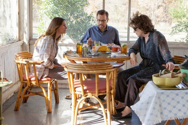 Julia Roberts, Ewan McGregor a Meryl Streep vo filme August: Osage County.