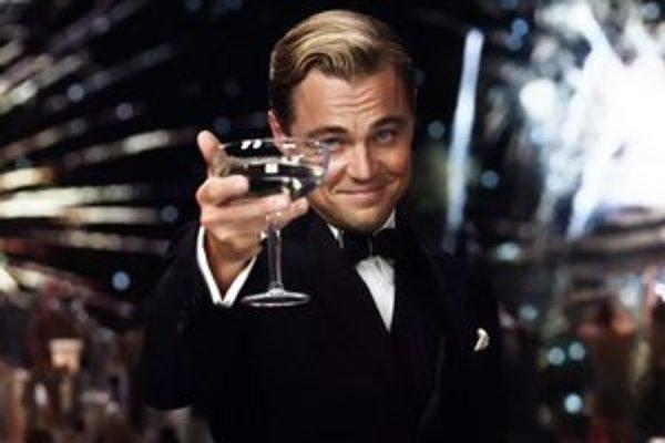 Leonardo diCaprio ako Veľký Gatsby.