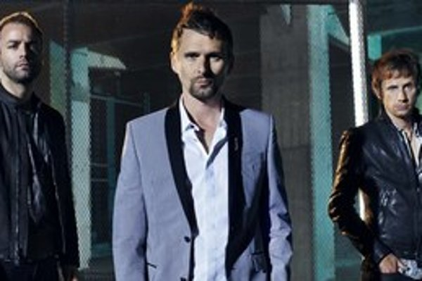 Britské trio Muse má na konte šesť štúdioviek. Na fotke zľava: basgitarista Christopher Wolstenholme, gitarista a spevák Matthew Bellamy a bubeník Dominic Howard.