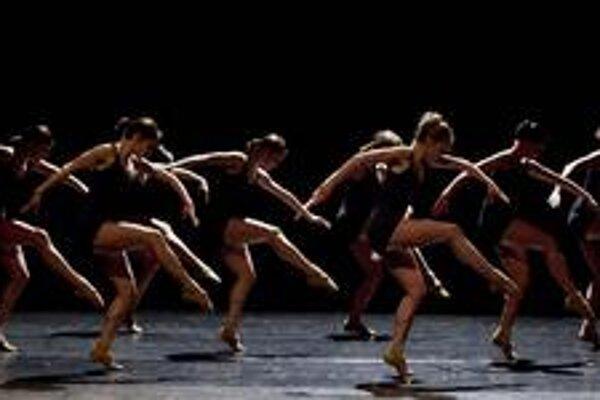 Choreografia Falling Angels.
