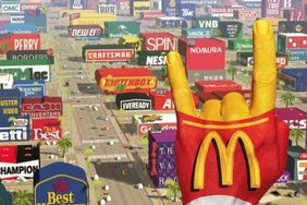Takto budú vyzerať filmy zamorené značkami a reklamou. Snímka Logorama francúzskych tvorcov v roku 2009 získala Oscara za krátky animovaný film.