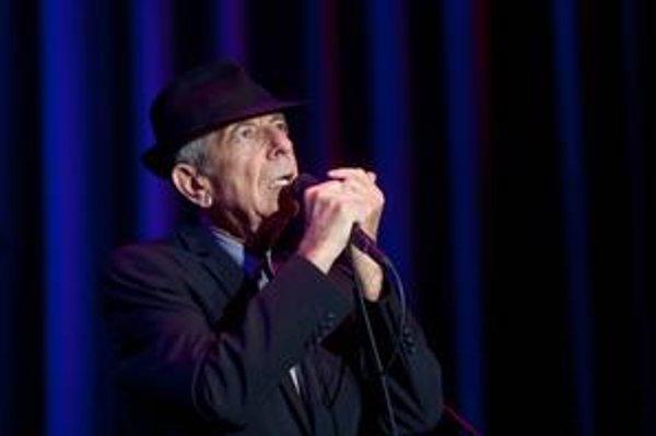 Naživo už Leonarda Cohena neuvidíme, ale nové pesničky stále robí.