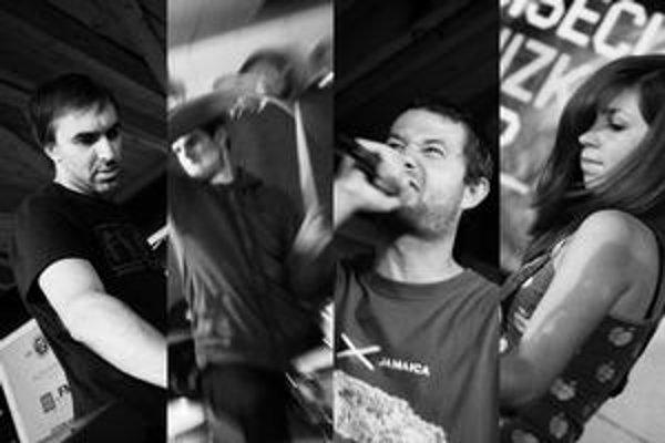 V projekte Zlokot sa zišli štyria známi muzikanti.