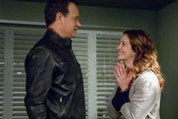 Tom Hanks a Julia Roberts.