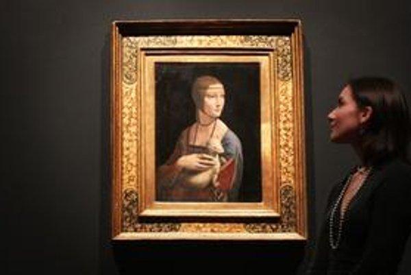 Vstupenky na londýnsku výstavu Leonarda da Vinci sa rýchlo vypredali.