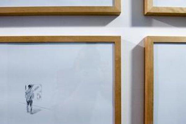 Katarína Poliačiková, ktorá patrí do tohtoročnej štvorice finalistov Ceny Oskára Čepana, sa prezentuje výstavou svojich inštalácií.