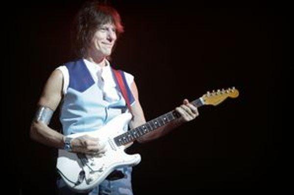 Jeff Beck si po prvýkrát zahral na Slovensku.