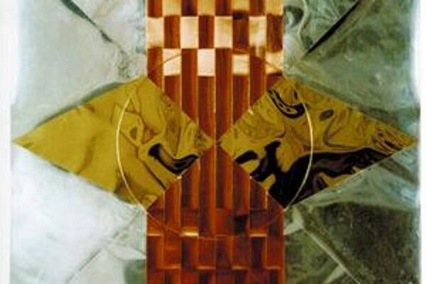 Diela Tamary Klimovej sú bez názvu, pochádzajú z konca 60. rokov, keď autorka začala vytvárať obrazy z kovových fólií.