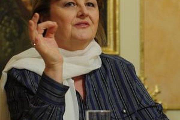Edita Grúberová.
