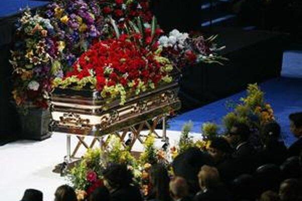 Verejná rozlúčka s Michaelom Jacksonom.