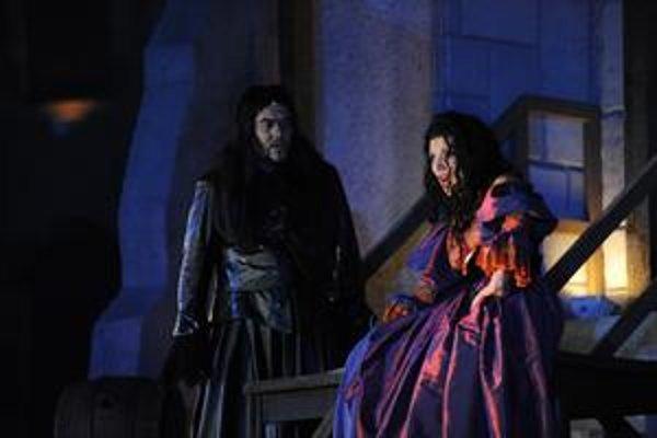 Z predstavenia Rigoletto.