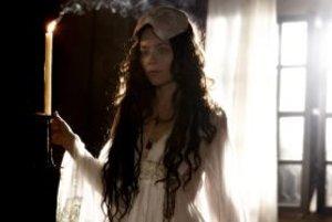 Záber z filmu Bathory.