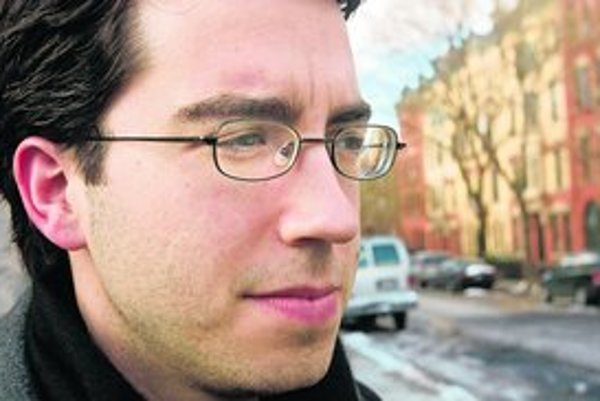 Spisovateľ Jonathan Safran Foer v New Yorku .