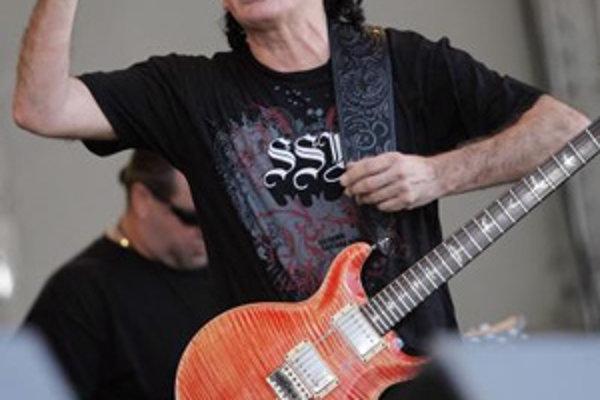 Carlos Santana príde na Slovensko prvý raz - 26. júna vystúpi v Bratislave.