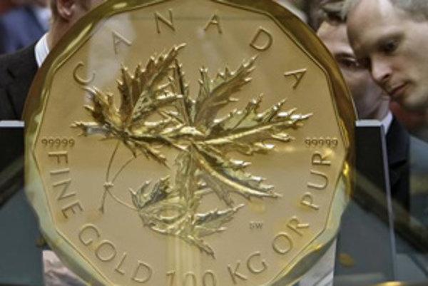 Minca váži 100 kíl a má hodnotu 2 milióny eur.