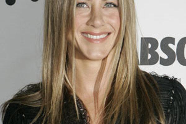 Herečka Jennifer Anistonová.