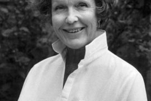 Herečka a spisovateľka Eva Dahlbecková (na fotografii z roku 1988) zomrela v piatok 8. februára  v dome dôchodcov v Štokholme.