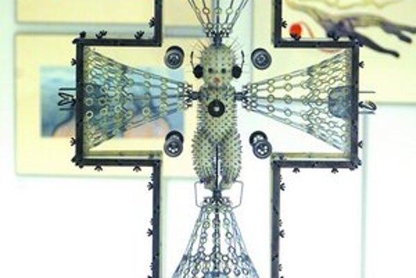 Dielo Tibora Tótha na výstave Umenie 2007.