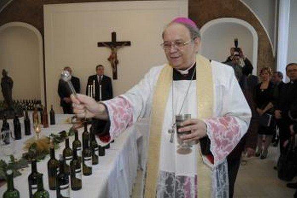 Trnavský arcibiskup Ján Orosch.