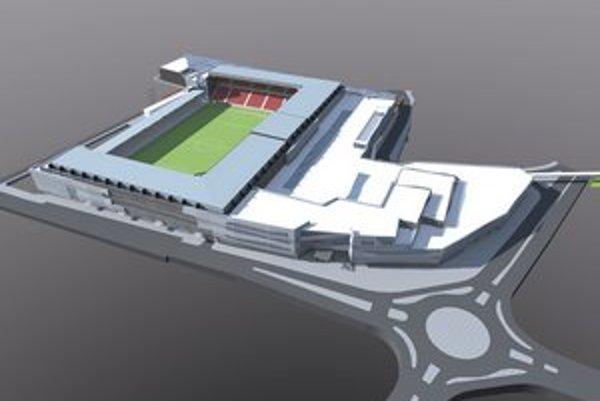 Moderná City Arena počíta len s parkoviskom pre návštevníkov komerčnej zóny.