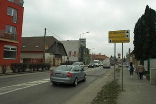 Dohnányho ulica v Trnave.