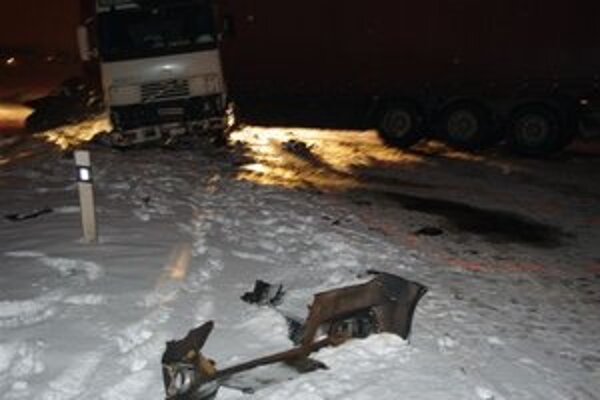Kamionista zavinil nehodu, pri ktorej zomrela študentka Gabriela.