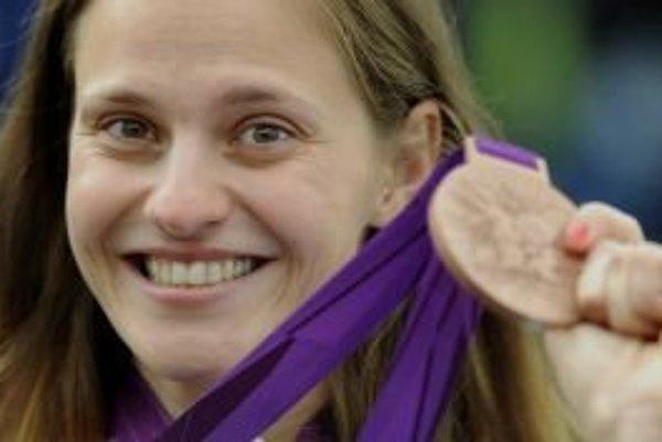 Danka Barteková získala bronzovú medailu.
