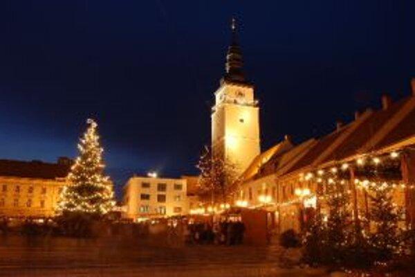 Nový organizátor Vianočných trhov v Trnave sľubuje niekoľko zmien.