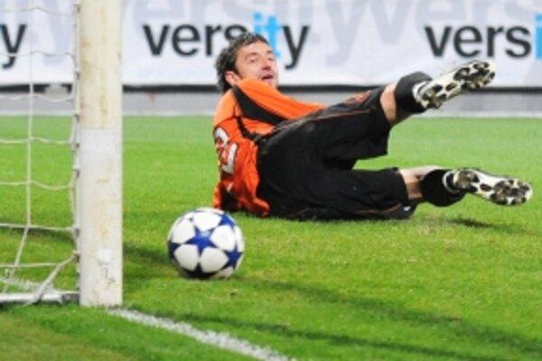 S Martinom Raškom hrala v Žiline aj šťastena, Oravec v závere penaltu nepremenil.