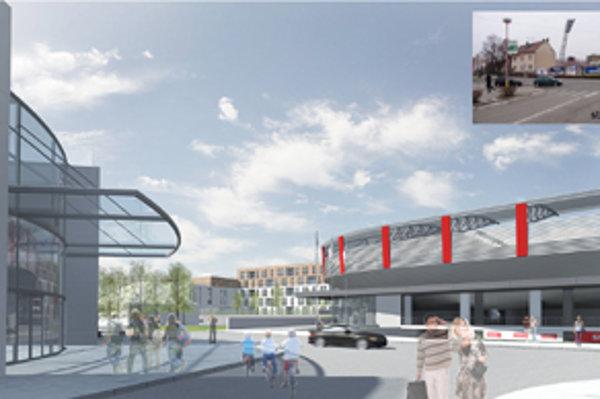 Parkovanie počas výstavby štadióna musí doriešiť projektant.