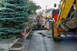 Potrebná výstavba kanalizácie v obci.