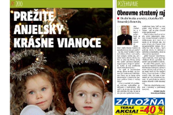 Práve vychádza vianočné číslo MY-Trnavských novín.