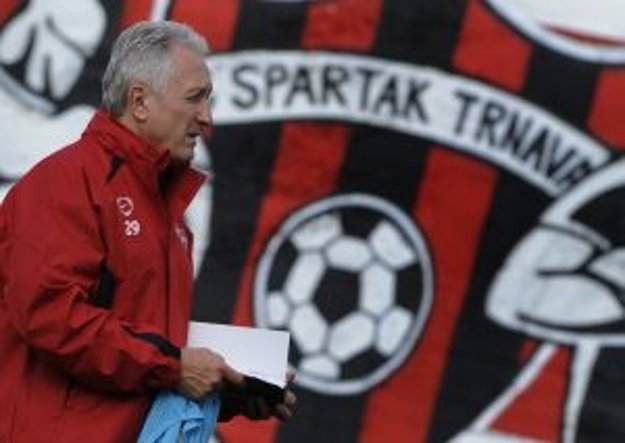 Karol Pecze vo farbách Spartaka. Už je to minulosť.