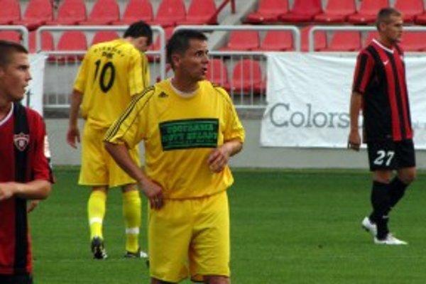 Andrej Filip v prípravnom zápase proti Piešťanom.