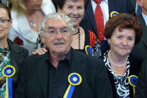 Čestný občan TTSK, herec Štefan Kvietik.