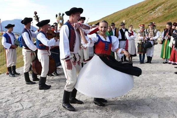 Lubená mala v Zakopanom vystúpenie aj na vrchole Kasprowho štítu.