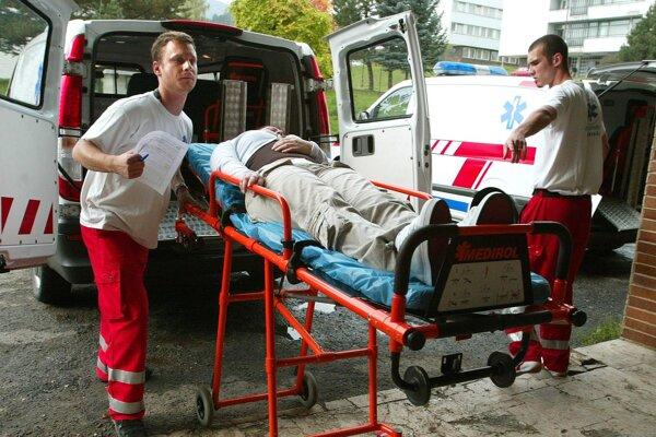 Ak sa človek o srdce nestará, môže skončiť v nemocnici.