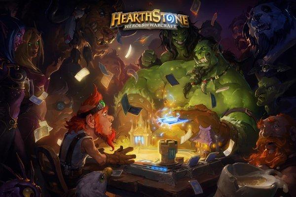 Activision Blizzard vlastní aj obľúbenú kartovú hru na motívy sveta WarCraftu - Hearth Stone.