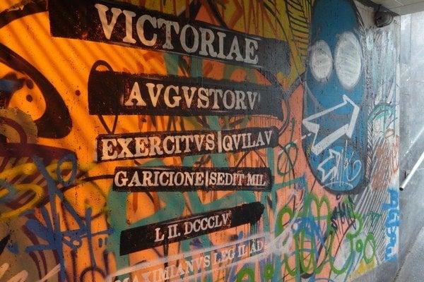 Graffity stáli mesto tritisíc eur.