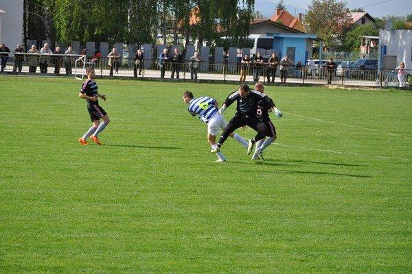 Tr. Teplice v Solčanoch prišli o víťazstvo v posledných minútach zápasu.