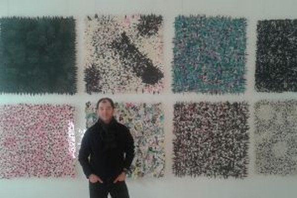 Jozef Bajus vystavuje v Trenčíne