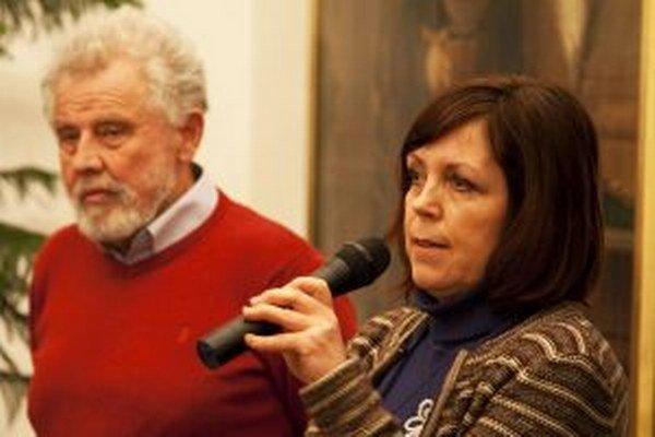 Daniela Dvořáková predstavila svoju novú knihu počas besedy, ktorú zorganizovala trenčianska knižnica s múzeom.