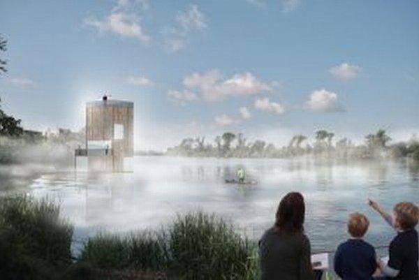 Návrh architekta Branislava Andela.