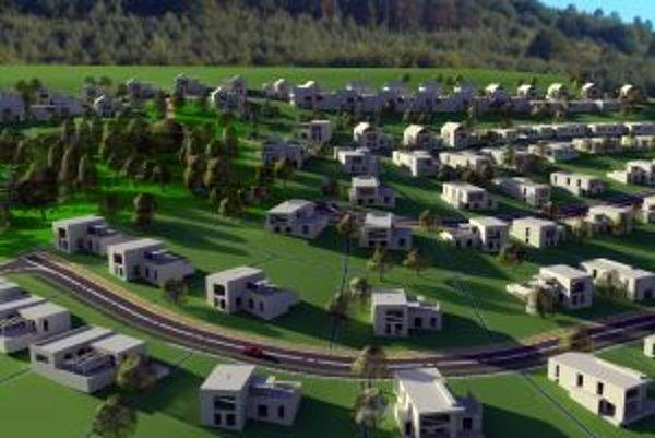 Bytový areál postavia v obľúbenej lokalite.