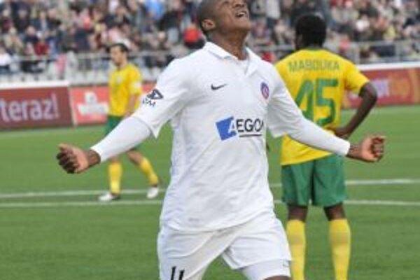 William strelil jediný gól Trenčína.