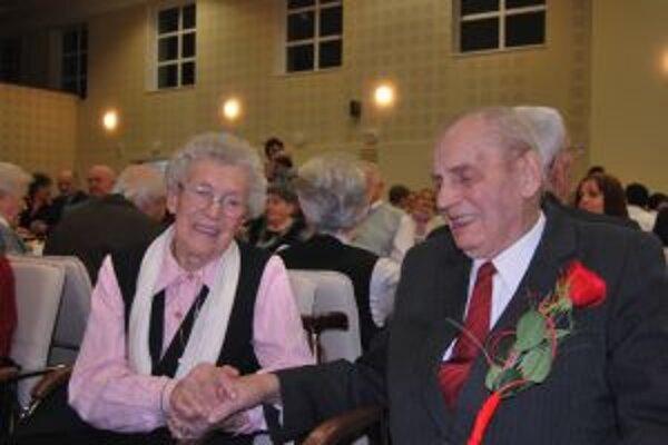 Manželia Jurčovci žijú spolu už 64 rokov.