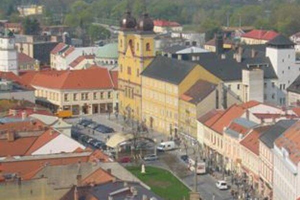 Mierové námestie v Trenčíne