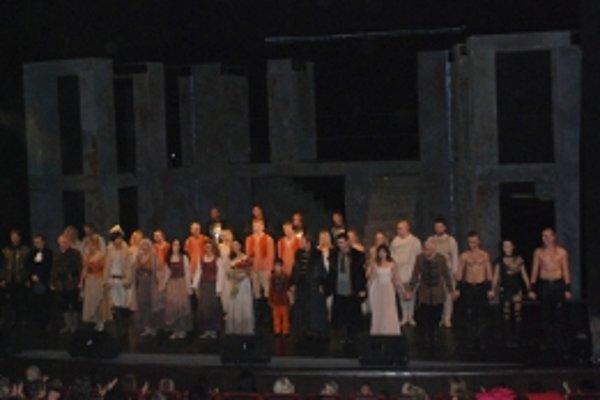 Trenčianska regionálna a priemyselná SOPK zorganizovala Art klub s muzikálom Báthoryčka v podaní hercov divadla Nová scéna v Bratislave.