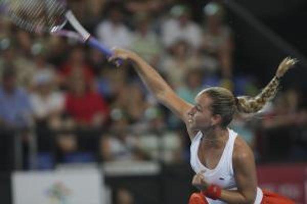 Dominika Cibulková zatiaľ v Hopmanovom pohári neprehrala.